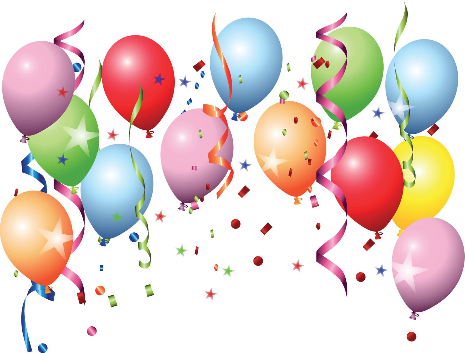 Happy Birthday Balloons- Doug Gazlay's ILoveVittles.com