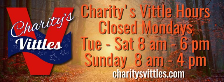Charity's Vittles Smyrna, GA Hours Fall 2020
