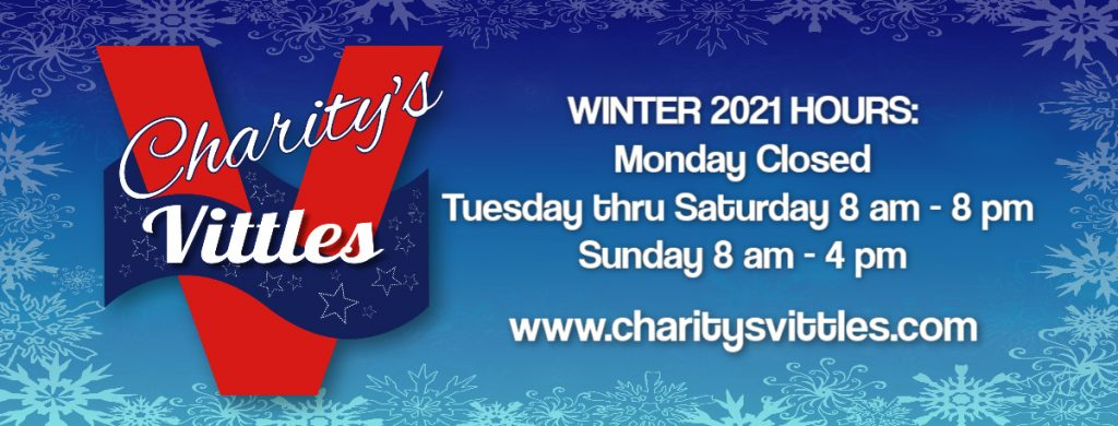 CV WINTER 2021 HOURS- 8-8pm