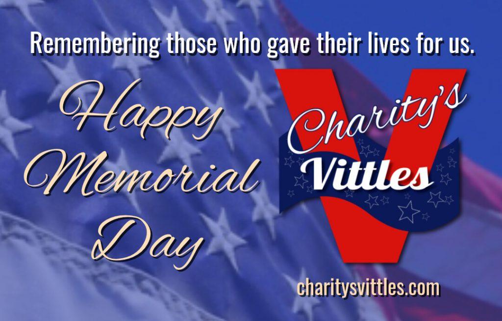 Charitys-Vittles-Happy-Memorial-Day-2021-CharitysVittles.com